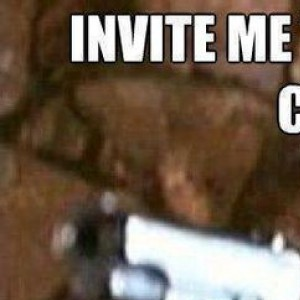 Invite me one more time!