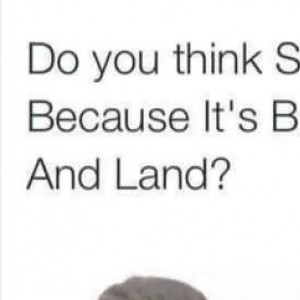 Is That Why It's Called Sand?