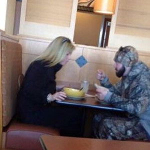 It's So Sad When You See Someone Eating Alone