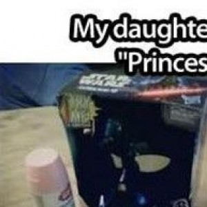 """My Daughter Insisted On Being """"Princess Darth Vader"""""""