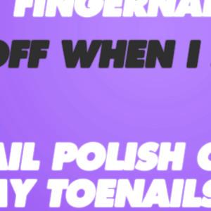 My Nail Polishing Skill