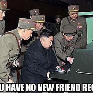 No Friend Requests