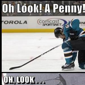 Oh look, a penny!
