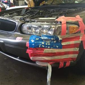 This is the Patchwork Someone Used To Repair Their Car
