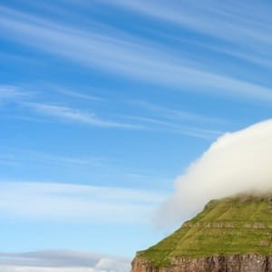 This Small Island With Its Own Particular Cloud