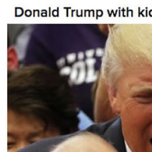 Trump With Kids Vs ObamaWith Kids