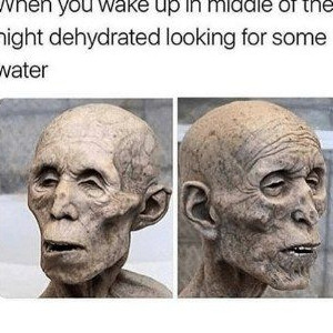 Waking Up Dehydrated In The Night