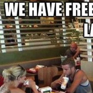 We have free WiFi