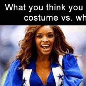 What You Think You Look Like In Your Halloween Costume Vs The Truth