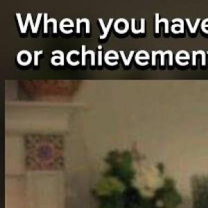 When You Have No Life Achievements